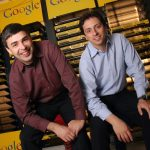 Portraits of the Founders of Google