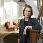 Carly Fiorina and her husband Frank Florina at their home in Lorton, Va.
