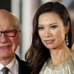 Rupert Murdoch and Wendi Deng at the Shanghai Film Festival in 2011