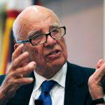 Rupert Murdoch at a forum in Boston