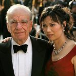 Rupert Murdoch is listed (or ranked) 16 on the list Famous Men Who Married