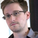 Former U.S. spy agency contractor Edward Snowden is interviewed