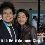 Steve Chen with His wife jamie chen